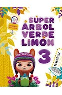 Papel SUPER ARBOL VERDE LIMON 3 KAPELUSZ [AREAS INTEGRADAS] (ANILLADO) (NOVEDAD 2020)