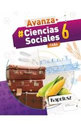 Papel CIENCIAS SOCIALES 6 KAPELUSZ AVANZA CABA (NOVEDAD 2020)