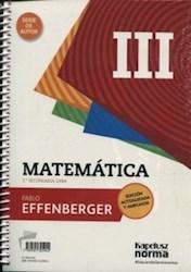 Papel Matematica Iii Serie De Autor