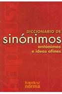 Papel DICCIONARIO DE SINONIMOS ANTONIMOS E IDEAS AFINES