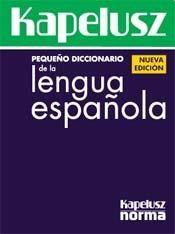 Papel Pequeño Diccionario De La Lengua Española