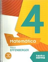 Libro Matematica Effenberger 4