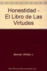 Papel Honestidad El Libro De Las Virtudes Oferta