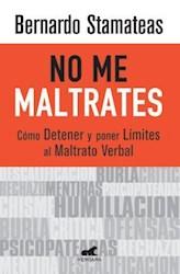 Libro No Me Maltrates