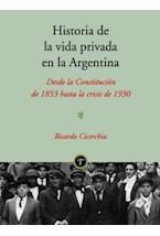 Papel HISTORIA DE LA VIDA PRIVADA EN LA ARG 1853-1930
