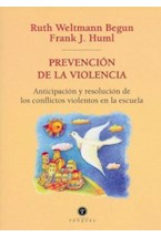 Papel PREVENCION DE LA VIOLENCIA (ANTICIPACION Y RESOLUCION DE LOS