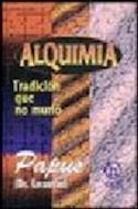 Papel ALQUIMIA TRADICION QUE NO MURIO (HACATE) (RUSTICA)