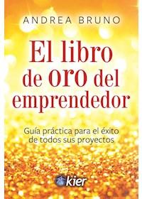 Papel Libro De Oro Del Emprendedor