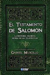 Libro El Testamento De Salomon