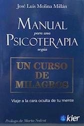 Libro Manual De Psicoterapia Segun Un Curso De Milagros