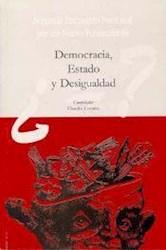 Papel Democracia, Estado y desigualdad