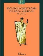 Papel Escritos sobre  teoría política medieval