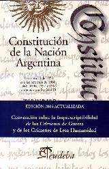 Papel Constitucion De La Nacion Argentina Eudeba