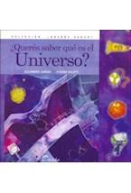 Papel QUERES SABER QUE ES EL UNIVERSO