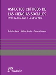 Papel Aspectos críticos de las ciencias sociales