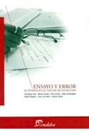 Papel ENSAYO Y ERROR EL ENSAYO EN EL TALLER DE ESCRITURA (TEMAS COMUNICACION)