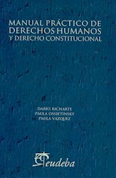 Papel Manual práctico de Derechos Humanos y Derecho Constitucional