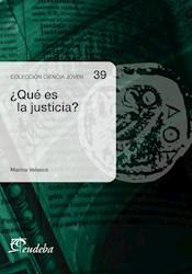 Libro Que Es La Justicia ?  Argumentos Filosoficos Sobre Lo Justo O Lo Injusto