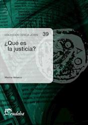 E-book ¿Qué es la justicia?