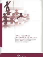 Papel La estructura académica argentina