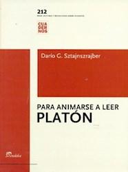 Libro Para Animarse A Leer Platon