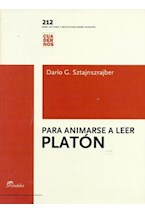 Papel PARA ANIMARSE A LEER A PLATON