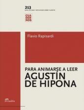 Papel Para animarse a leer Agustín de Hipona