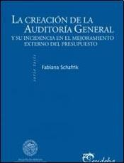 Libro La Creacion De La Auditoria General