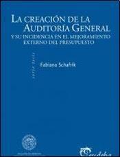 Papel La creación de la Auditoría General de la Nación y su incidencia en el mejoramiento del control externo del presupuesto