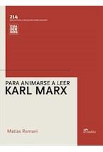 Papel PARA ANIMARSE A LEER A KARL MARX