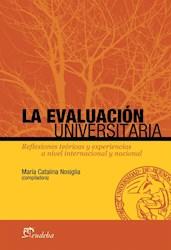 Papel La evaluación universitaria