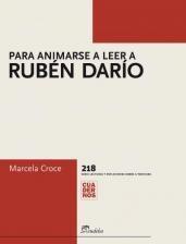 Papel Para animarse a leer a Rubén Darío