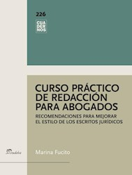 E-book Curso práctico de redacción para abogados