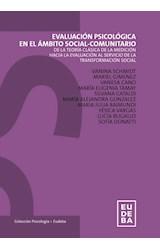 Test EVALUACION PSICOLOGICA EN EL AMBITO SOCIAL-COMUNITARIO