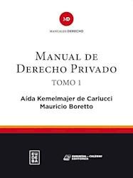 Papel Manual de derecho privado. Tomo I