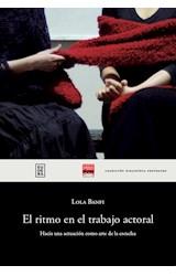 Papel EL RITMO EN EL TRABAJO ACTORAL
