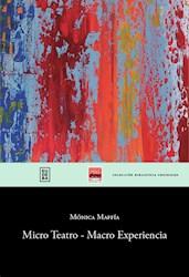 Libro Micro Teatro - Macro Experiencia