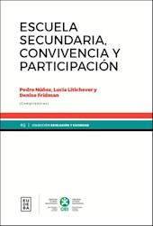 Libro Escuela Secundaria Convivencia Y Participacion