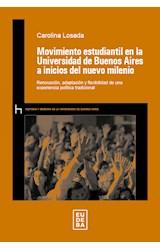 Papel MOVIMIENTO ESTUDIANTIL EN LA UNIVERSIDAD DE BUENOS AIRES A I