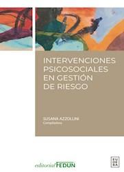 Papel Intervenciones psicosociales en gestión de riesgos