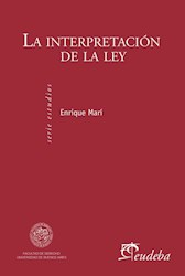 E-book La interpretación de la ley