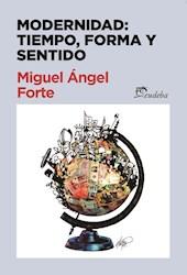 E-book Modernidad: tiempo, forma y sentido