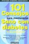 Libro 101 Consejos Para Mantenerse Sano Con Diabetes