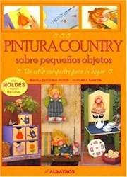 Papel Pintura Country Sobre Pequeños Objetos