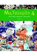 Papel MULTIJUEGOS 4 PARA MIRAR OBSERVAR Y DESCUBRIR