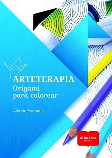 Papel Arteterapia - Origami Para Colorear
