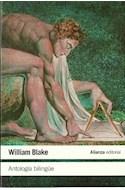 Papel ANTOLOGIA BILINGUE (BLAKE WILLIAM) (LITERATURA L47)