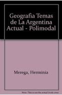 Papel GEOGRAFIA TEMAS DE LA ARGENTINA ACTUAL SANTILLANA POLIMODAL