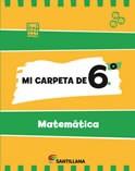 Papel Mi Carpeta De 6 Matematica