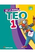 Papel DE LA MANO DE TEO 1 SANTILLANA (CON ACTIVIDADES) (NOVEDAD 2014)